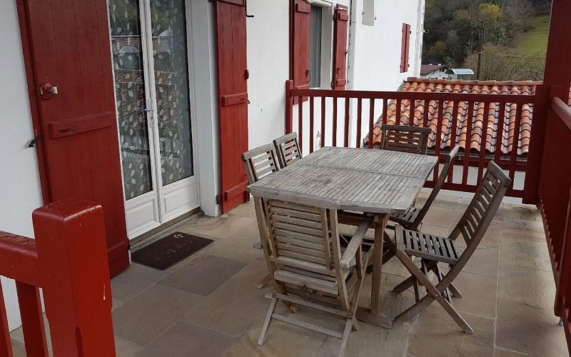 Gite av terrasse - terrasse