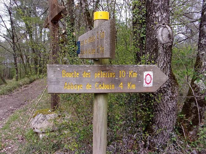 intersection la croix des Douelles.
