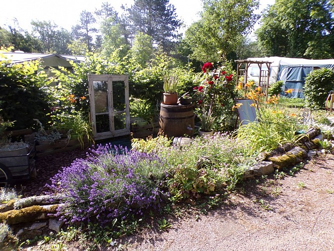 jardin camping Champlitte
