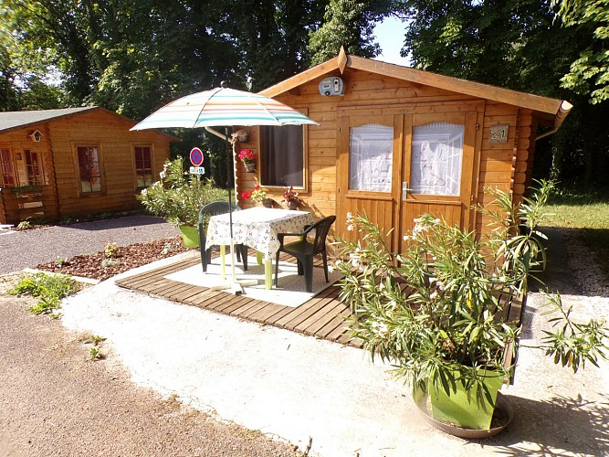 chalet camping Champlitte