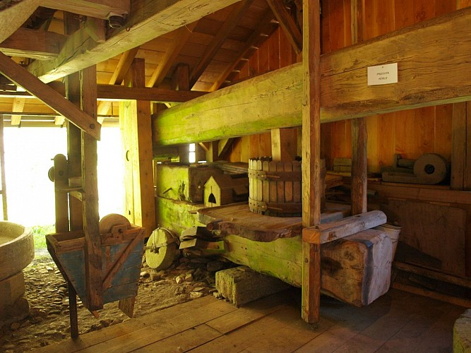 Mill in Tienne and Miller's house