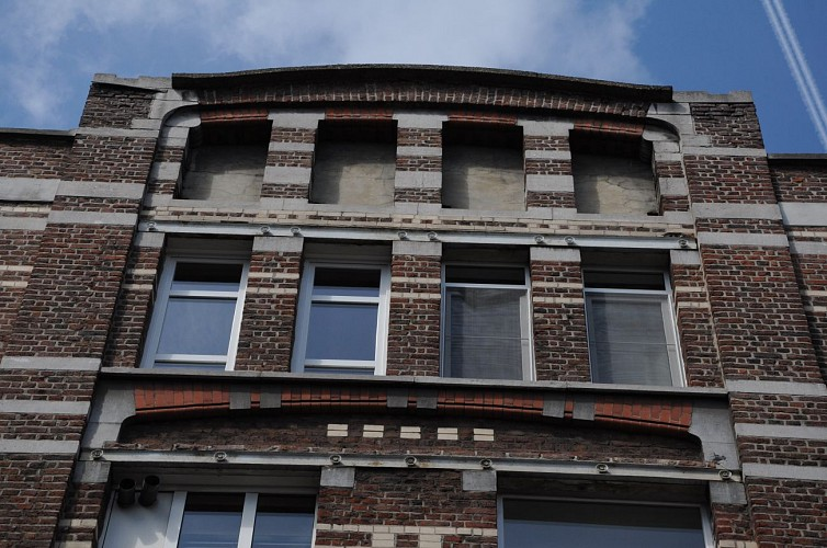 Rue Porte Grumsel n°2-4 et rue de Berghes n°6 – Logements ouvriers