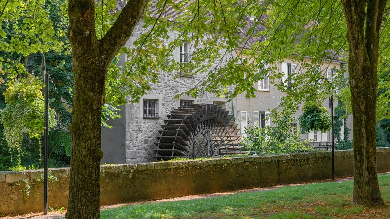 Brothers Recollets' convent and paddle wheel