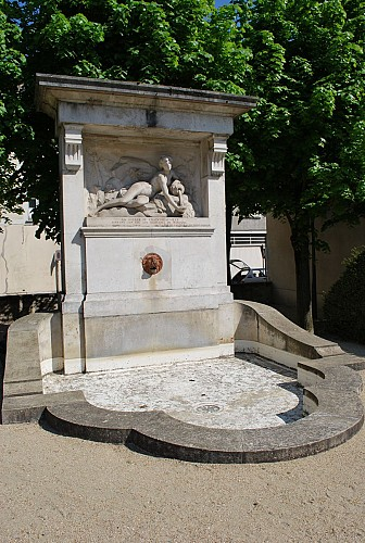 The Fountain of Chaintréauville's water