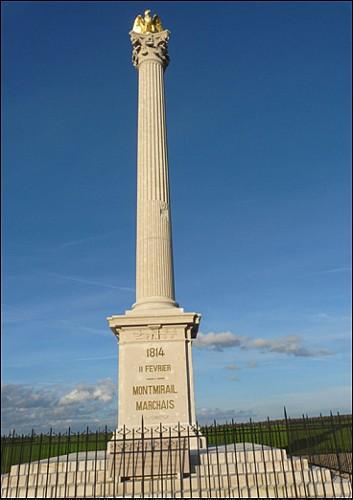 Colonne de la Bataille de Motmirail-Marchais 1814
