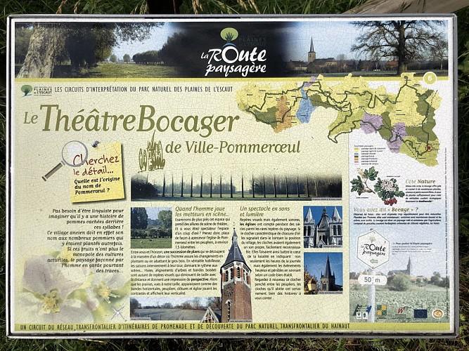 Le Théâtre du Bocager de Ville-Pommeroeul