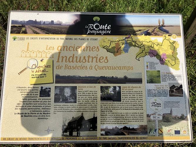 Les anciennes industries de Basècles à Quevaucamps