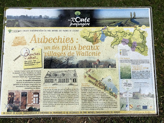 Aubechies : Un des plus beaux villages de Wallonie