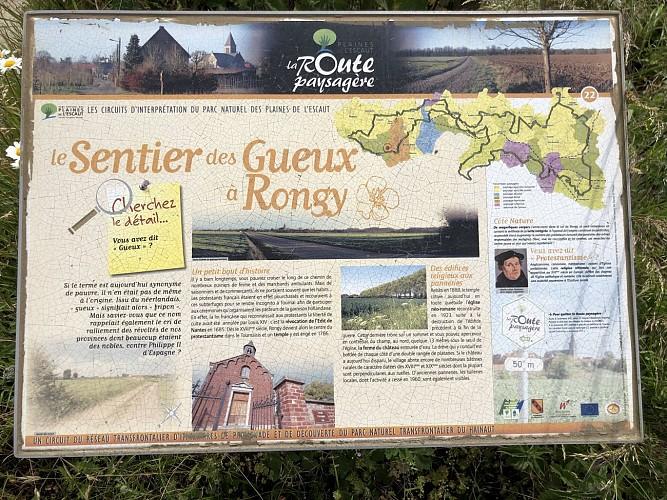 Le Sentier des Gueux à Rongy