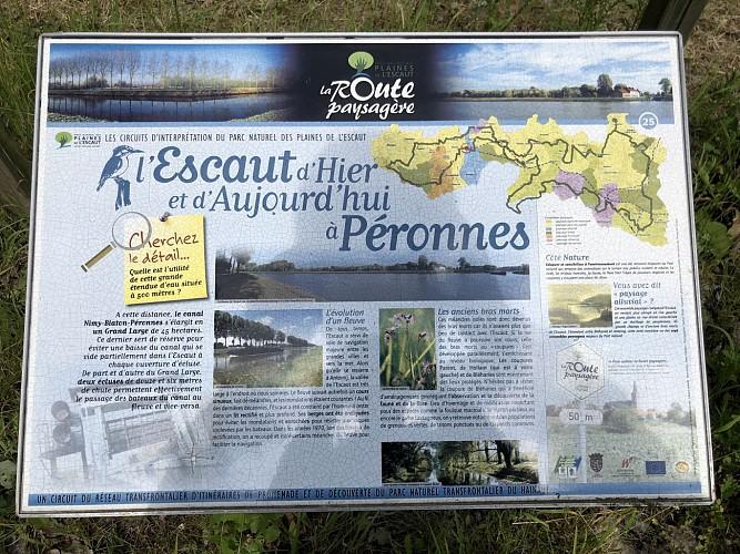 L'Escaut d'Hier et d'Aujourd'hui à Péronnes