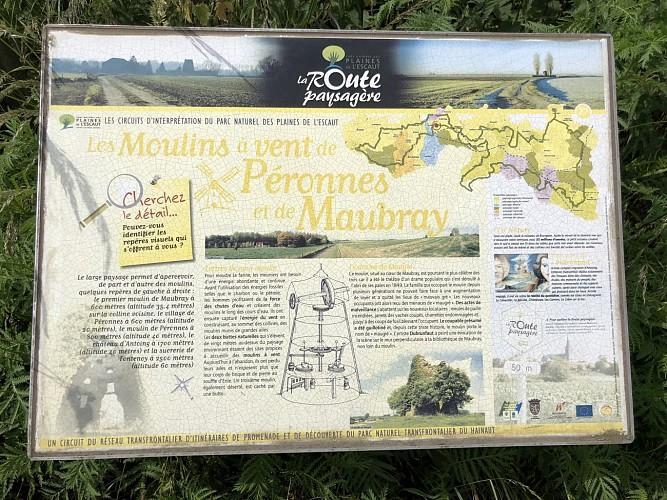 Les Moulins à Vent de Péronnes et de Maubray
