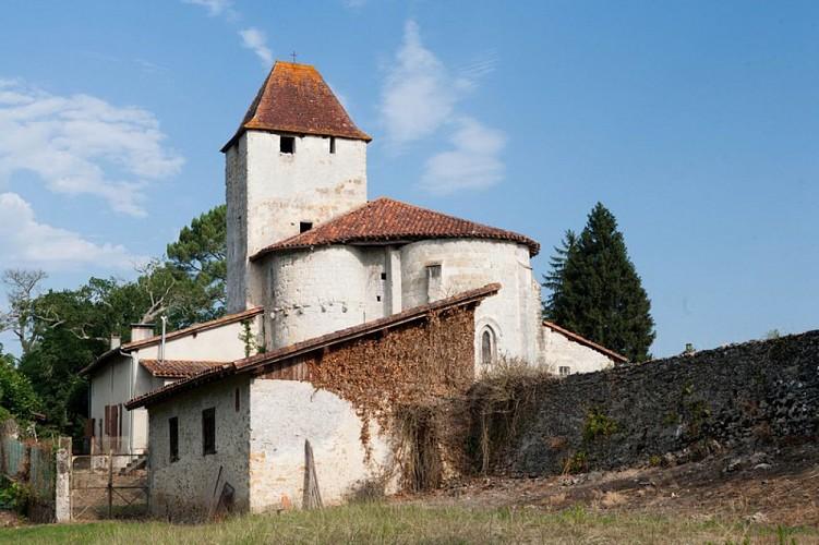 Saint-Justin-40240---Eglise-Douzevielle----OT-Landes-d-Armagnac