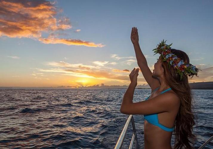 Catamaran cruise off the coast of Na'Pali - Dinner included - Kauai