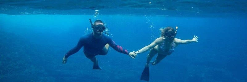 Croisière en zodiac avec découverte des côtes Na'Pali et snorkeling - Kauai