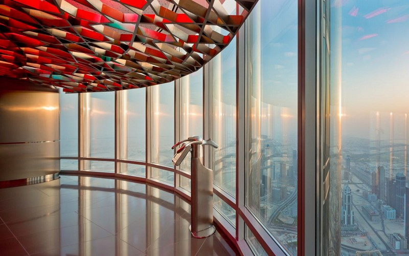 Burj Khalifa: At the Top Sky Lounge with Introductory Tour (Level 152 & 154)
