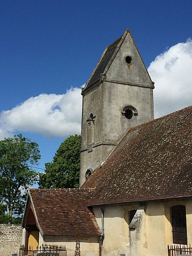 The church of Coulandon