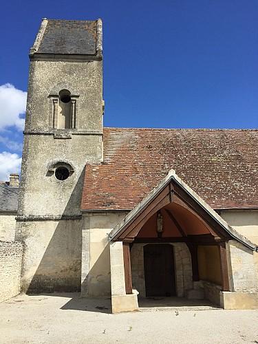 L'église de Coulandon