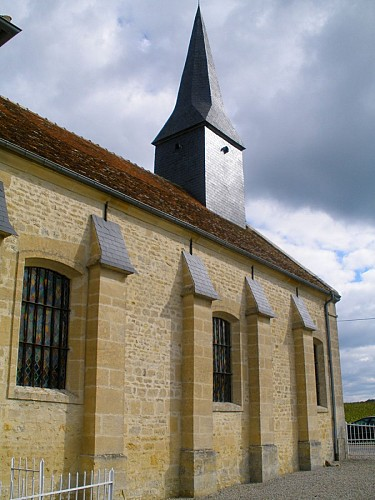 The church of Villebadin