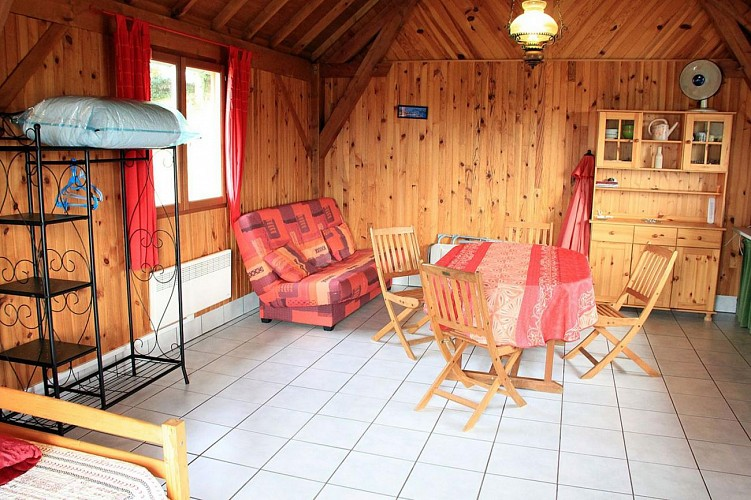 Location Gîtes de France - TOULX SAINTE CROIX - 2 personnes - Réf : 23G1179