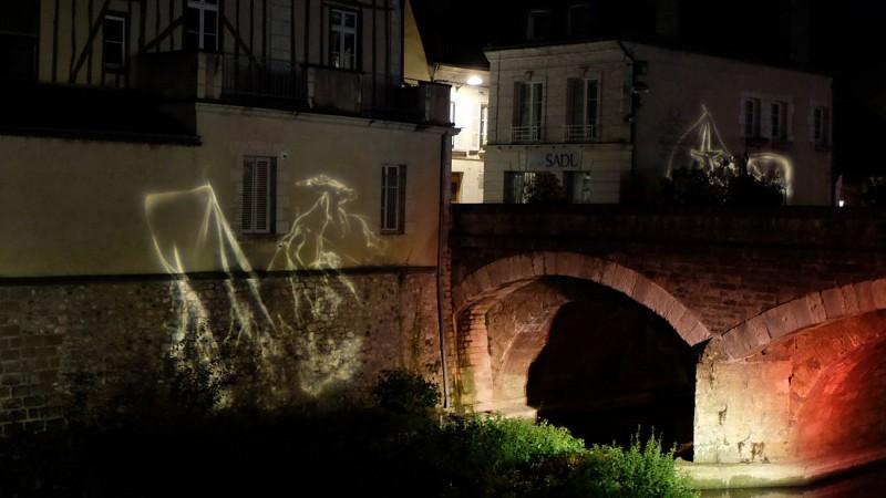 Vendôme by night