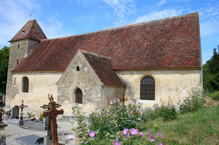 L'église de Fougy