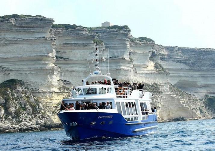 Croisière d'une journée à Bonifacio – au départ d'Ajaccio et Porticcio