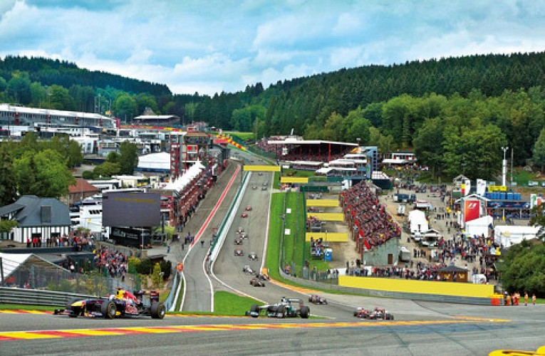 F1-circuit van Spa Francorchamps