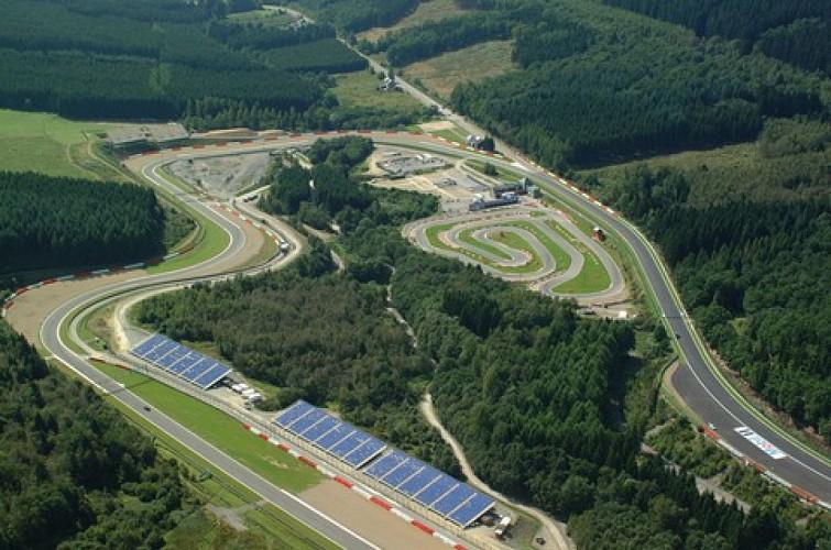 F1-circuit van Spa Francorchamps