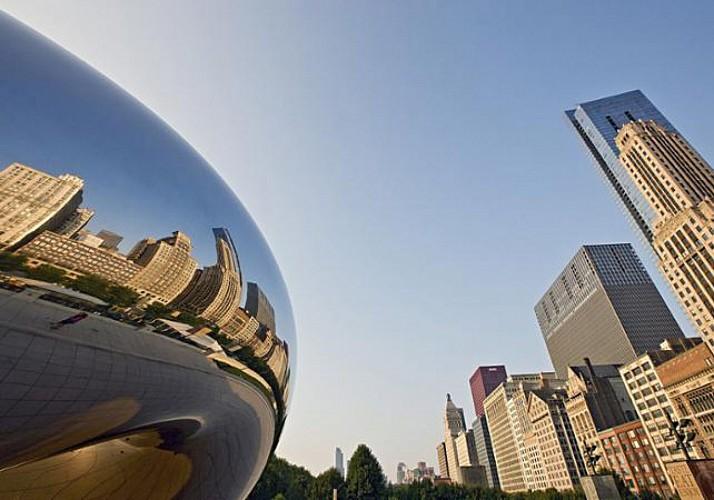 Visite guidée des quartiers Nord de Chicago en minibus et à pied