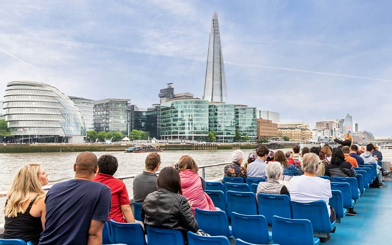 Westminster To Greenwich: Thames River Cruise