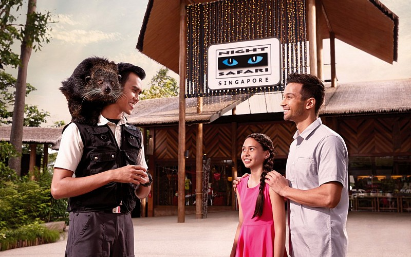 Super Saver Combo: Singapore Zoo + River Safari + Night Safari