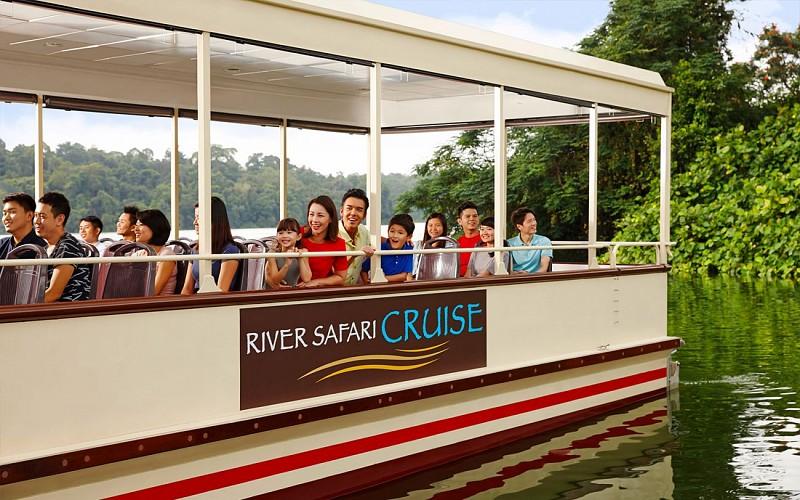 Super Saver Combo: Singapore Zoo + River Safari + Night Safari