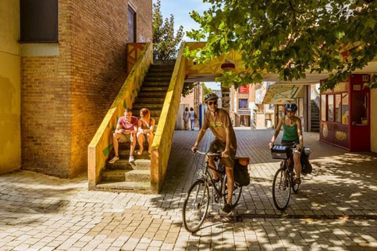 Louvain-la-Neuve, hedendaagse en autovrije stad