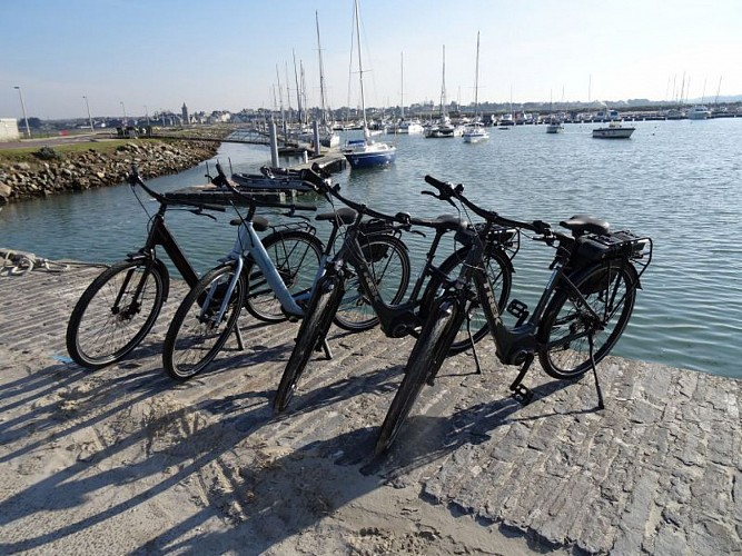 Location de vélos > Capitainerie port de plaisance