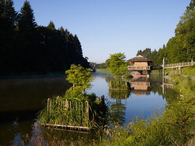 Provinciaal domein van Chevetogne, buitengewone en creatieve natuur