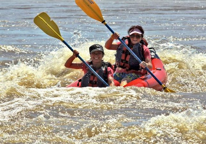 Rafting on the Colorado river - Moab