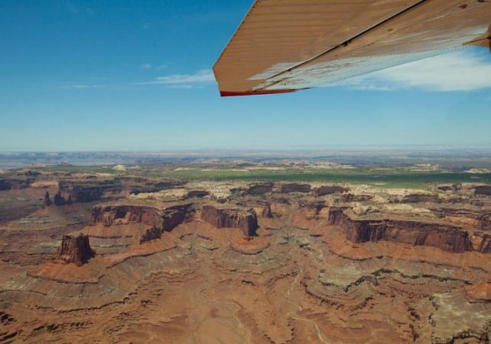 1 hour Scenic Flight over Canyonlands National Park - Moab