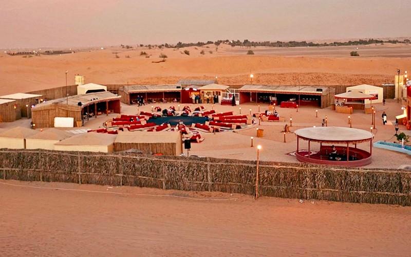 Sunset Camel Trek with BBQ Dinner