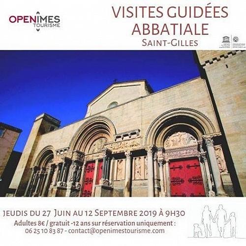 Visite guidée de l'abbatiale de Saint-Gilles