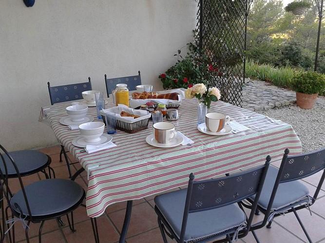 La Boissière et le Vialat Petit déjeuner