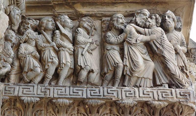 Détail façade abbatiale