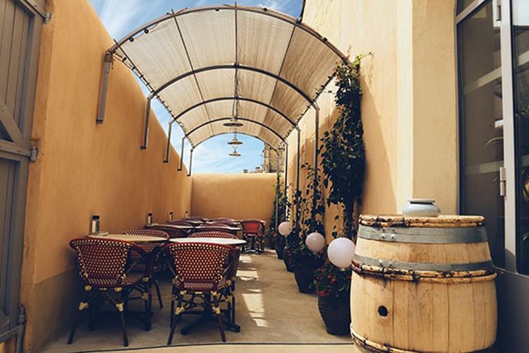 L'atelier des halles terrasse