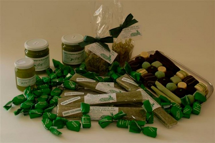 La chocolaterie Huvelin à Niort