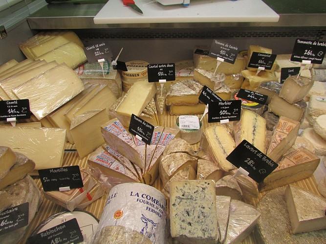 Nature Gâtine à Mazières-en-Gâtine / Le fromage