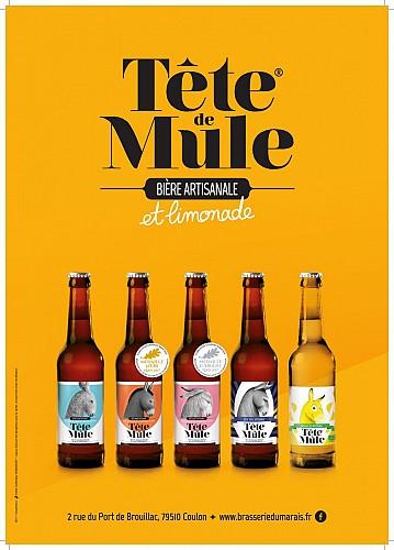 """Bières et limonade """"Tête de Mule"""""""
