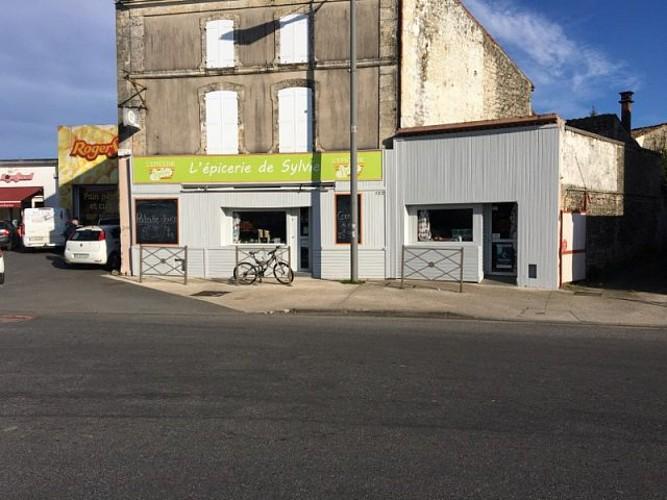 La façade du magasin