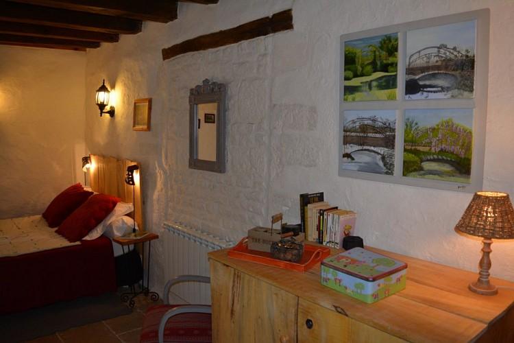 """La chambre d'hôtes """"Le Hameau de Sainte-Mégrine"""" à Coulon"""