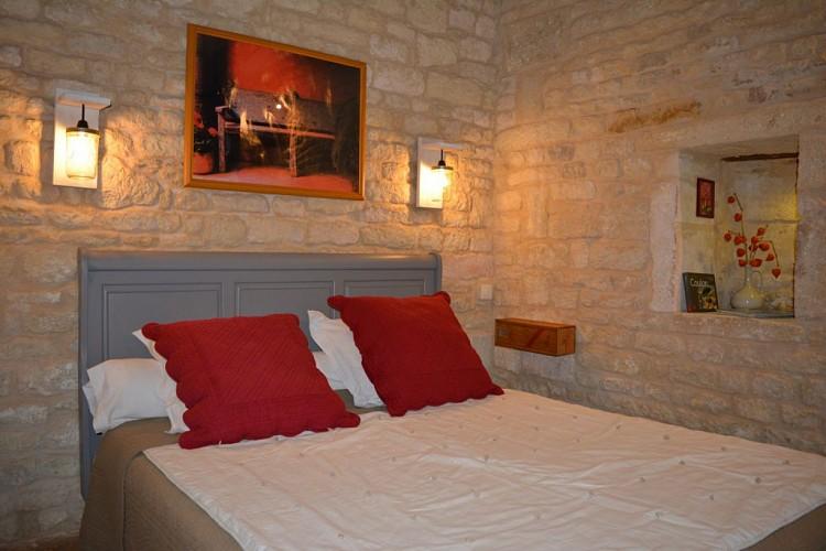 """La chambre """"Carré Rouge"""""""