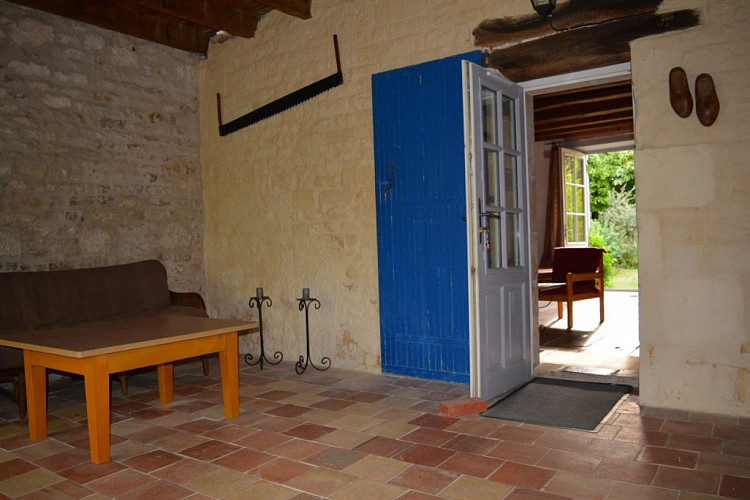 """La chambre """"Porte Bleue"""""""