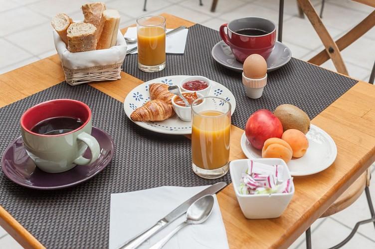 Petit-déjeuner salé/sucré